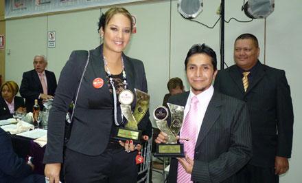 Marina Mora Tambien Recibio Premio a la Excelencia Gerencial y Gestion de Calidad