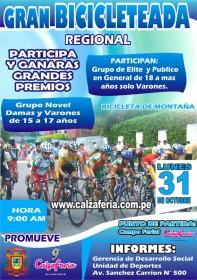 Gran Bicicleteada Regional Calzaferia 2011