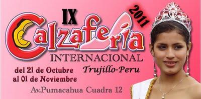 Programa oficial La IX edición de la Calzaferia Internacional 2011