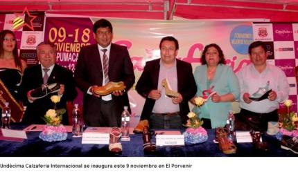 Calzaferia Porvenir 2013