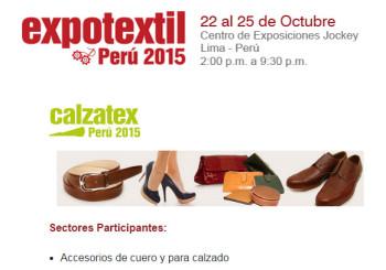 Calzatex Peru 2015